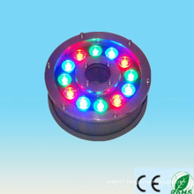 china supplier new product 100-240v 12V 24V 9w 12w ip65 RGB led underwater fishing light