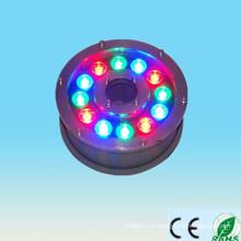 Alibaba курьерский новый продукт на рынке фарфора 100-240v 12V 24V 9w 12w ip65 12w RGB вело подводный свет фонтана