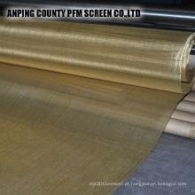 150 malha 99,9% puro tecelagem tipo fábrica de tela de malha de arame de cobre vermelho