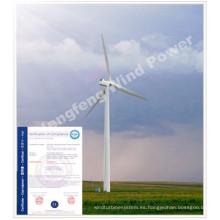 Generador eólico de alta eficiencia 100kw
