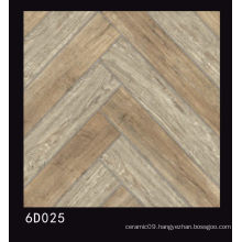 600X600mm Wooden Design Polished Porcelain Tile