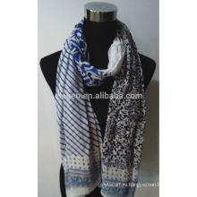 Новый дизайн принт хлопок шарф
