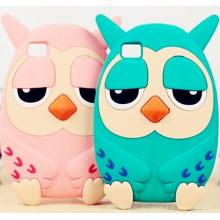 Professional Manufacturer 3D Animal Silicone Cell iPhone6/6plus Case