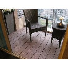 High Quality WPC Decking Floor Solid Outdoor Board Vente en gros de bois en plastique composée Decking stratifié Revêtement de sol