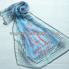 SD319-123 fashion imitation silk scarf