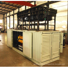 Grupo de gerador diesel 1200kw da mistura de gás de Googol 50Hz para o central eléctrica