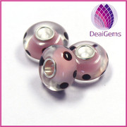 Western fashion accessories beads for making jewelry silver-finidhed