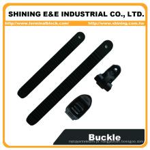 BC25A-BL15A Laço ajustável em forma de fivela de plástico