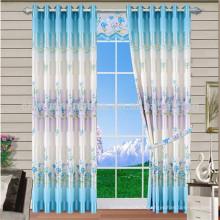 Rideaux de salon de rideau de fenêtre double vitrage