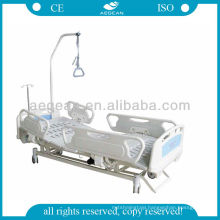 AG-BM102B 3 function electric patient furniture ABS handrails hospital traction bed