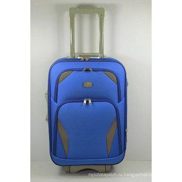 Дешевые EVA мягкий путешествия комплект багажа вагонетки