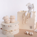 Round Baby Clothes Paper Box for Newborn Gift
