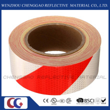 Honeycomb Stripe Reflective Hazard Self Adhesive Sticker Rolls (C3500-S)