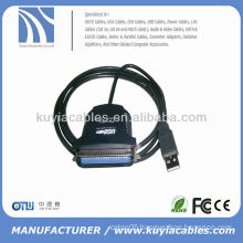 USB to 36 Pin Parallel IEEE 1284 Printer Adapter Cable