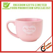 Mais congratulou-se com personalizado chávena de chá de cerâmica