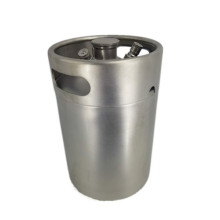 Stainless steel beer cans for domestic use