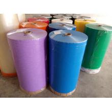 Rolo colado colorido da fita adesiva