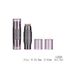 7ml concealer makeup with brush wholesale empty cosmetic plastic tube