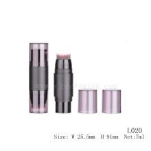 7ml маскирующий макияж с щеткой оптом пустая косметическая пластиковая трубка