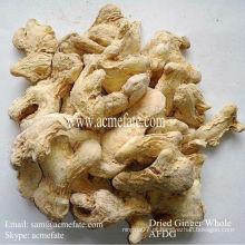 Especiarias orgânicas, gengibre seco, vendem gengibre seco