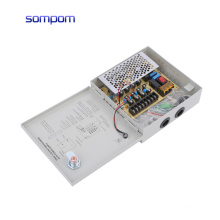 SOMPOM 12V 3A 4CH ac to dcSwitching power supply for cctv camera