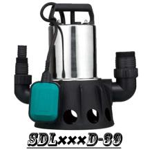 (SDL400D-39) 2 pulgadas salida gran flujo acero inoxidable bomba sumergible con interruptor de flotador