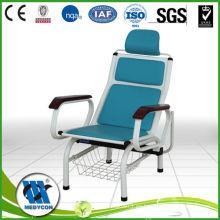 Sala de infusión ajustable infusión iv silla reclinable del hospital