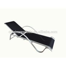 S shape outdoor sling sunbed lounger