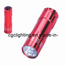 Lanterna elétrica de alumínio do diodo emissor de luz da bateria seca (CC-019)