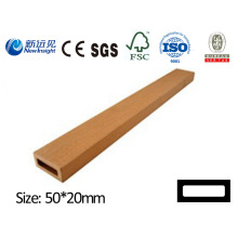Plastic Wood Plank WPC Plank with CE SGS Fsc ISO Garden Plank Vinyl Plank for Bench Dustbin Fence etc Lhma048