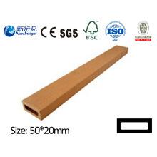 Prancha de madeira plástica prancha de WPC com prancha do vinil da prancha do jardim do ISO do SGS Fsc ISO do CE para a cerca etc. do lixo de estufa do banco Lhma048