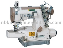 JT999-01DB-Z computer-Controlled Direct Drive Small Flat Bed Stretch Sewing Machine (Four Needles Six Thread)