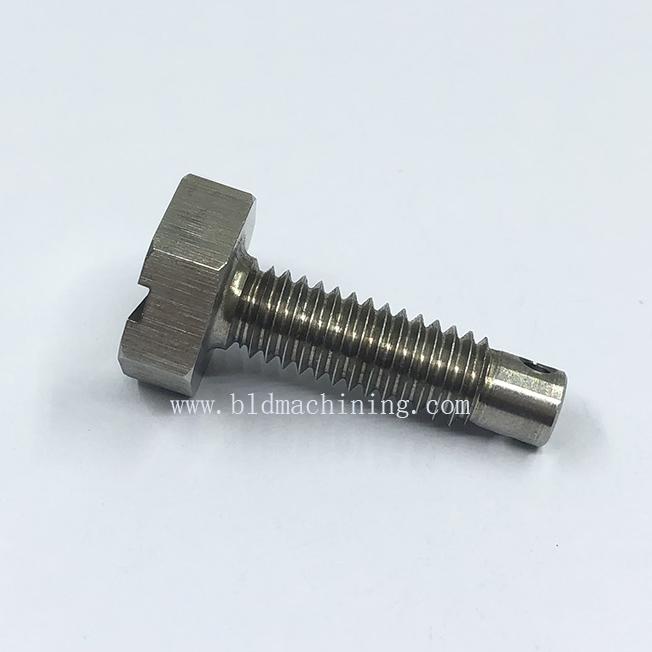Custom Steel Hex Screws