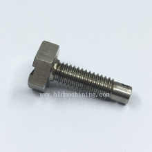 CNC Machining Custom Steel Hex Screw Fittings