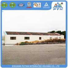 Edificio ampliamente utilizado de la estructura de acero prefabricado restaurante