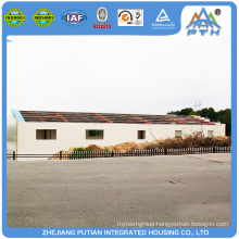 Widely used steel structure building prefabricated restaurant