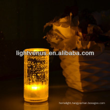 Transparent crystal rechargeable LED Dinner Table Lamp