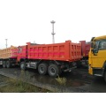 Orange color Sinotruk dump truck 40T
