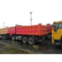 Πορτοκαλί χρώμα Sinotruk χωματερή 40T