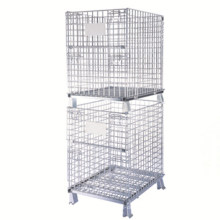 Yd-K005 Warehouse Folding Mesh Wire Storage Cage