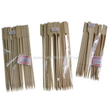 all size and packing flat bamboo pick skewer stick