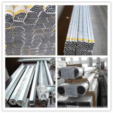 Различные металлические сплав 6005, 6061, 6063 алюминиевого сплава трубки для конструкции, украшения