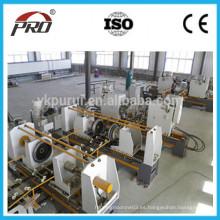 Alta velocidad de la línea de producción de barril de acero / 55 galones de tambor de acero