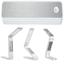 Promotional Folding Desk Light W/ LCD Screen