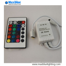 DC12-24V 24key IR Mini RGB LED Controller