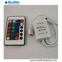 DC12-24V 24key IR Mini RGB LED Controller