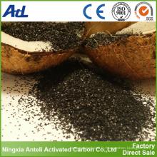 coquille de noix de coco charbon actif 8x30 traitement de l'eau
