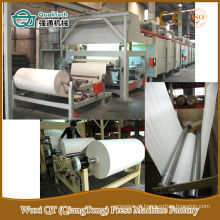 Máquina decorativa de linha de impregnação de papel kraft de melamina decorativa