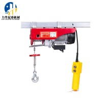 400/800 PA Mini electric hoist with wire rope
