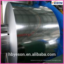 Óleo pintado Bobinas de aço galvanizado / Bobinas de aço galvanizado com preço competitivo / SGCC Bobinas de aço galvanizado